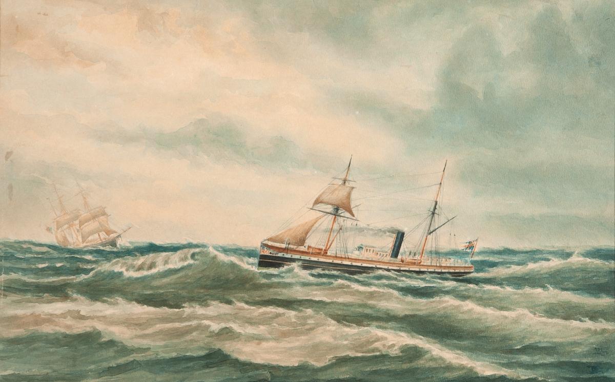 Målande sjöman, fartygsporträtt