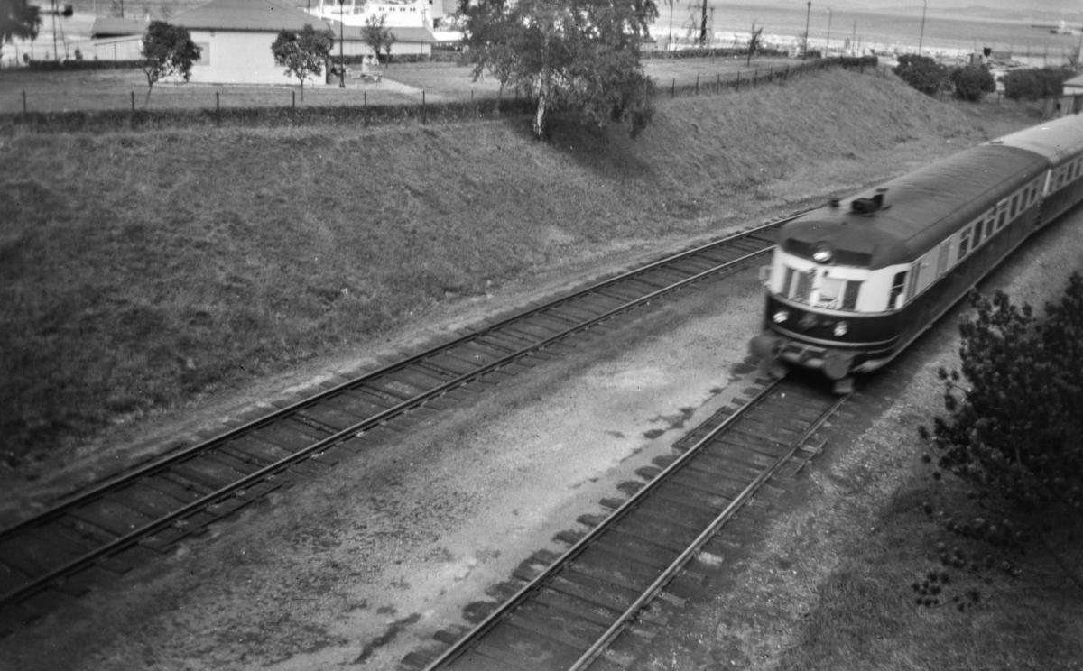 Ekspresstoget mellom Oslo Ø og Trondheim over Dovre, Dovreekspressen. Dieselmotorvogn type 88.