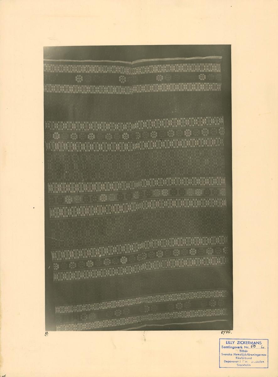 Täcke i munkabälte
