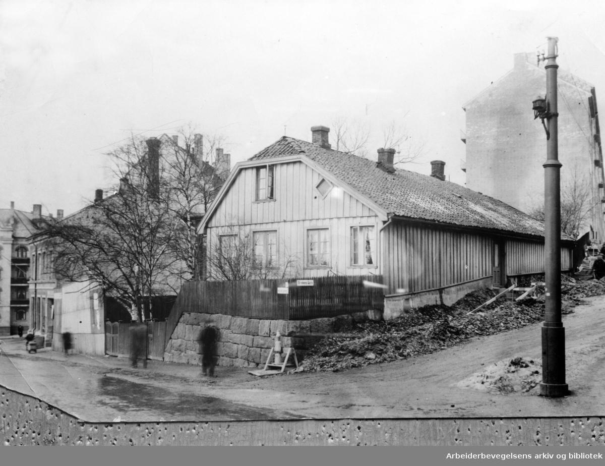 Østkanten Folkets Hus. 1930 - 1940