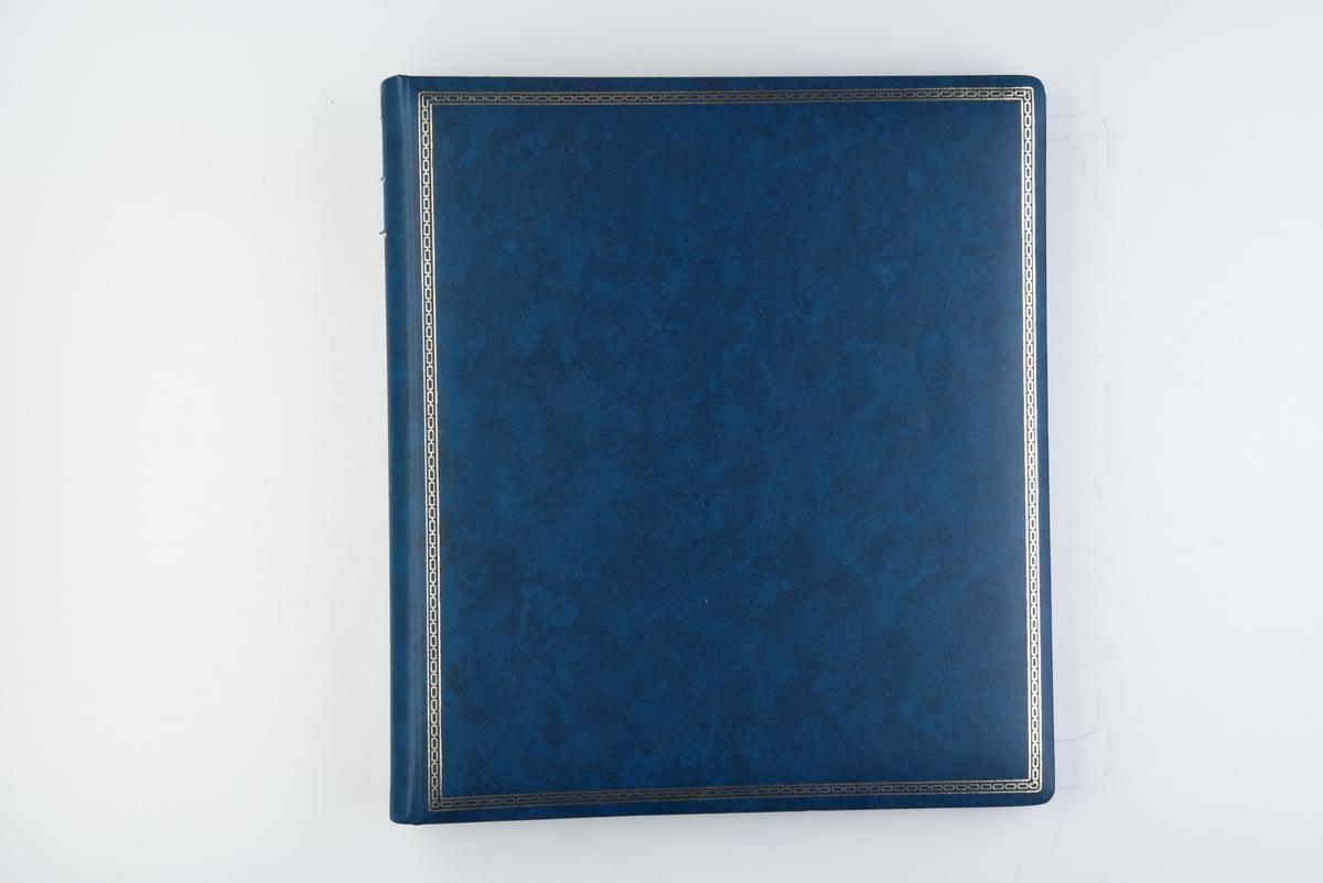 """Minnealbum med fotografier, avisutklipp og postkort fra """"Operation Sail 1960"""" og skoleskipene 'Sørlandet', 'Eagle', 'Statsraad Lehmkuhl' og 'Georg Stage'."""
