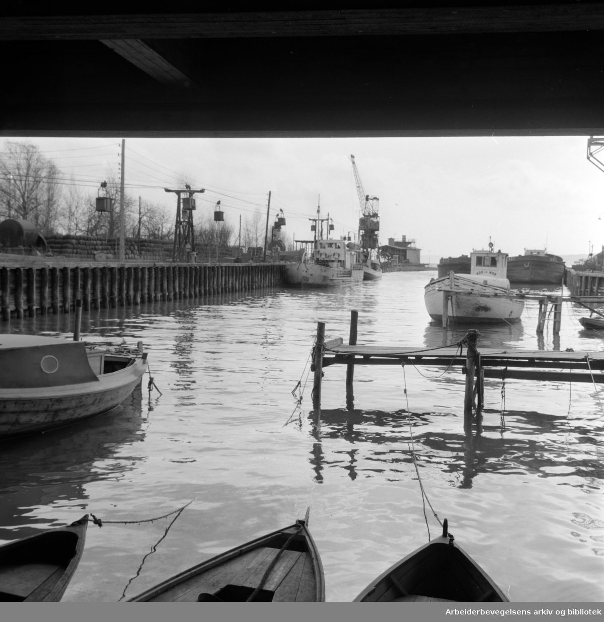 Lysaker. Mars 1960