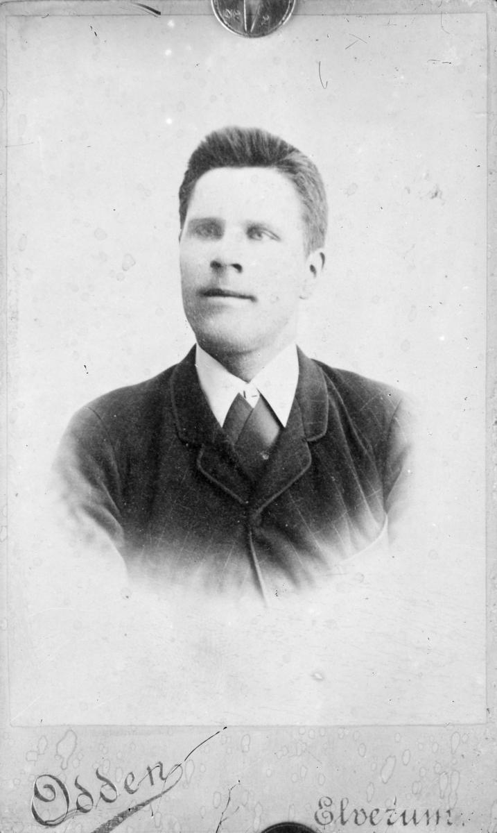 Portrett av ung mann