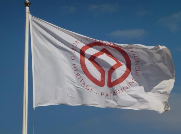 Verdensarvflagg (Foto/Photo)