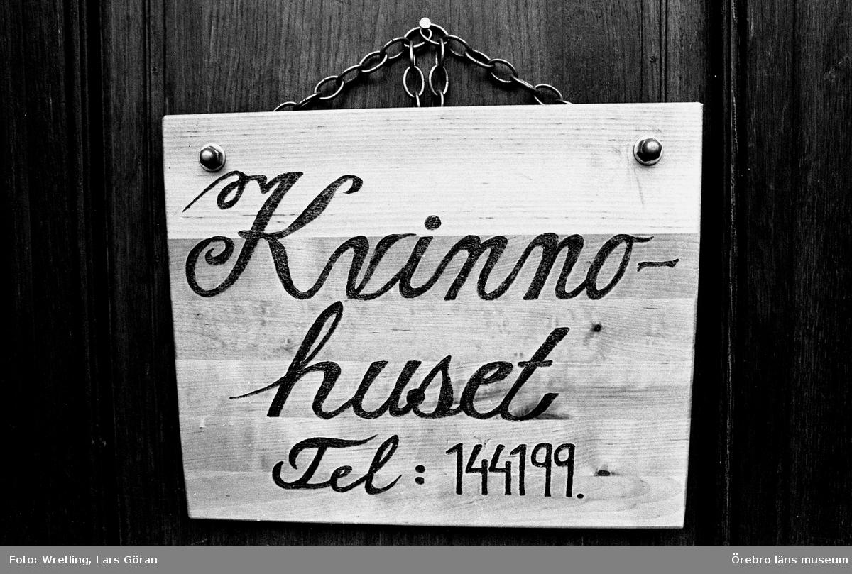 Kvinnohuset. 26 april 1983