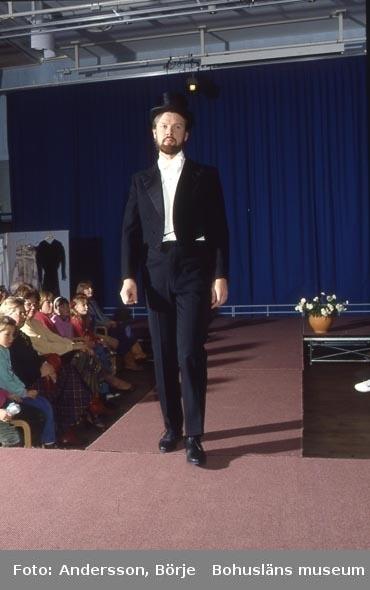 Modevisning i Hörsalen på Bohusläns museum