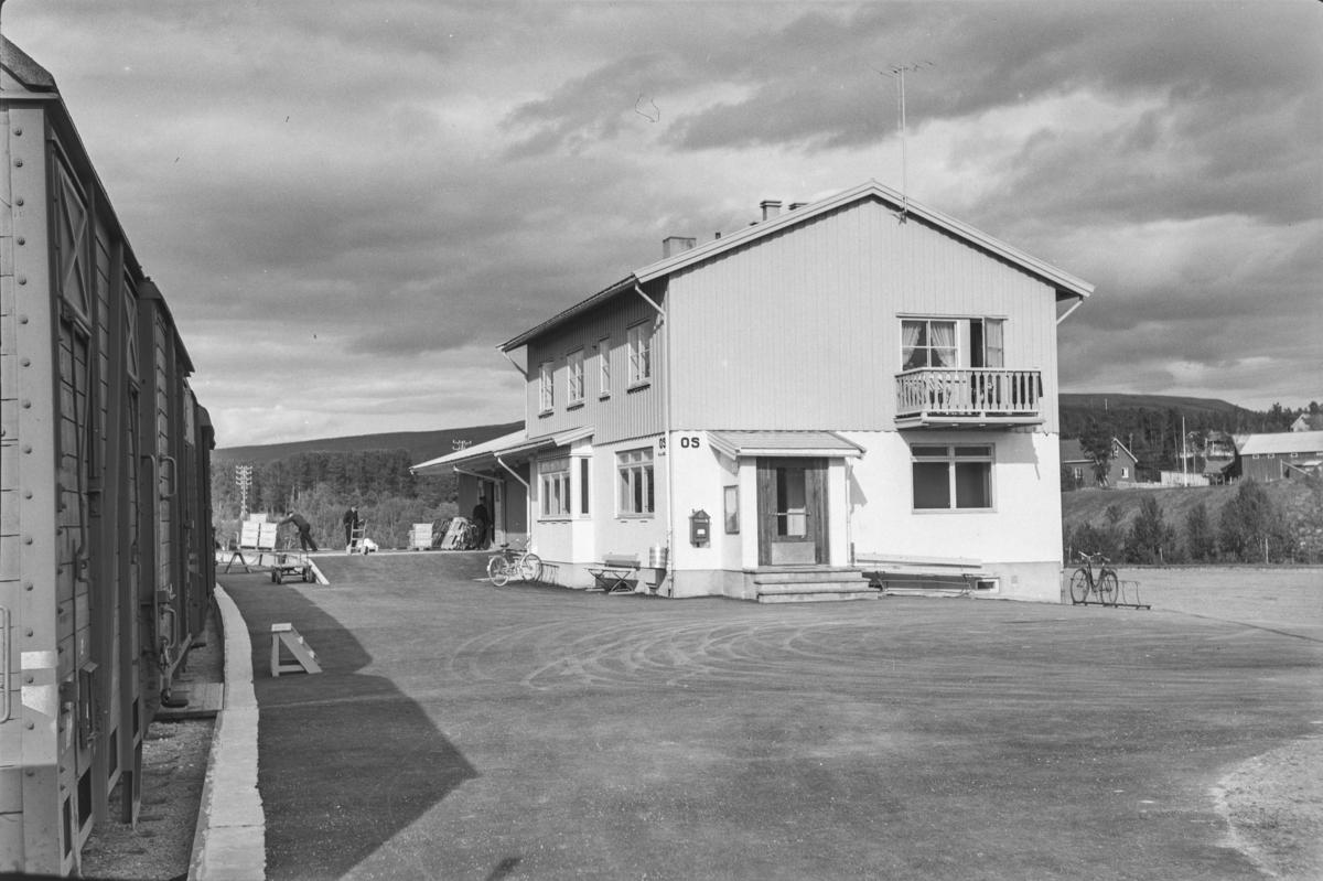 Os stasjon på Rørosbanen.