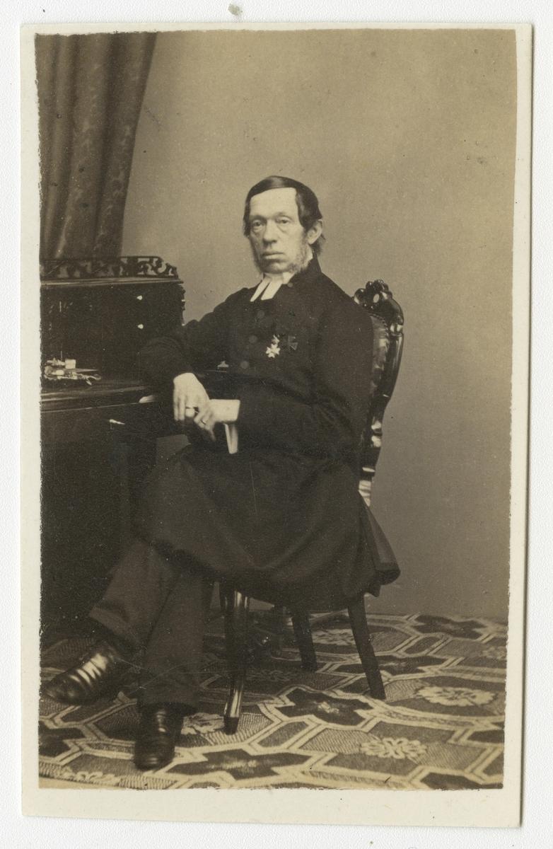 Porträtt av Johannes Rothlieb, kyrkoherde i Tyska församlingen, Stockholm.