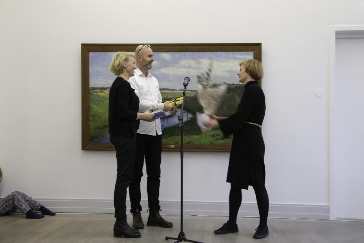 Bilder fra åpningen. Foto: Hanne Gjervig.