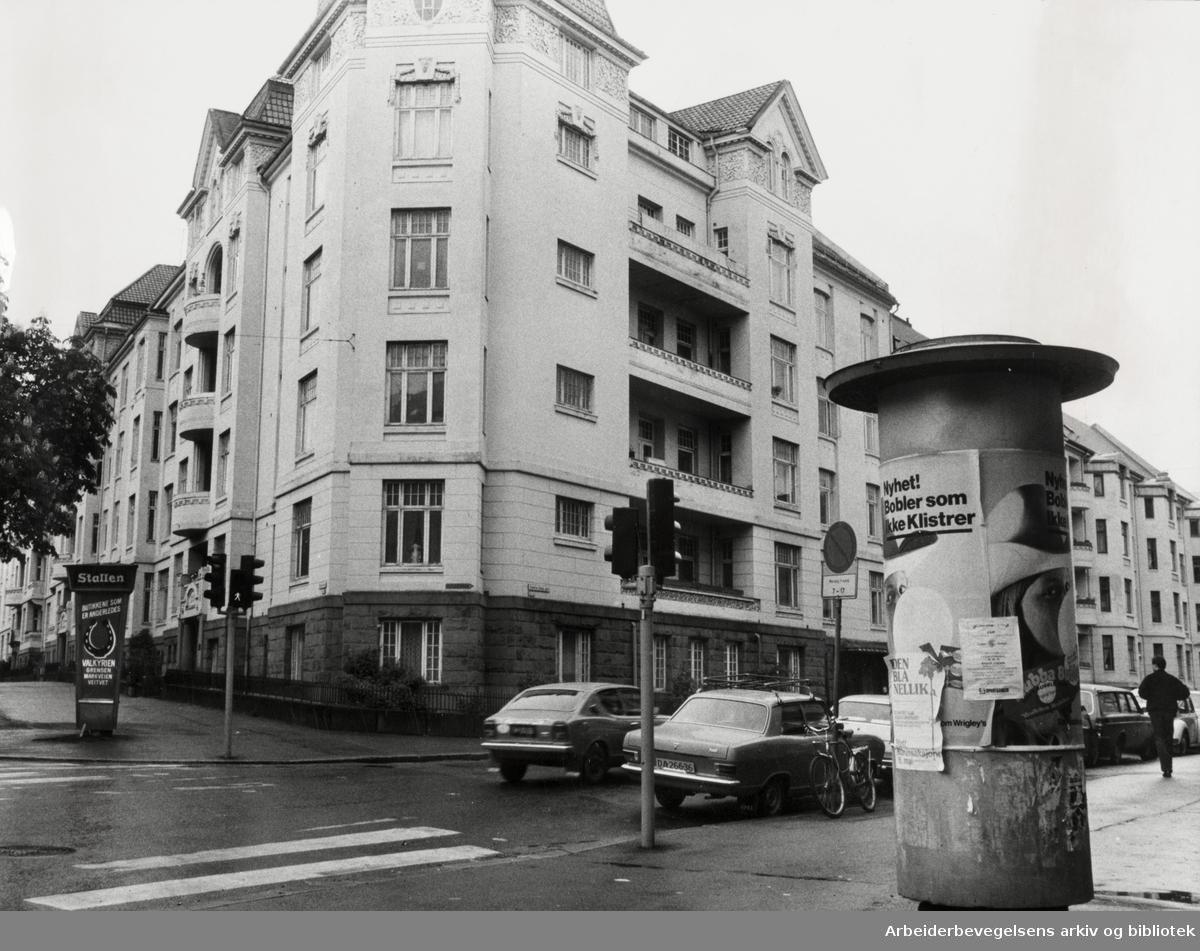 Bygdøy Allé 45. Røde Kors. Juni 1981
