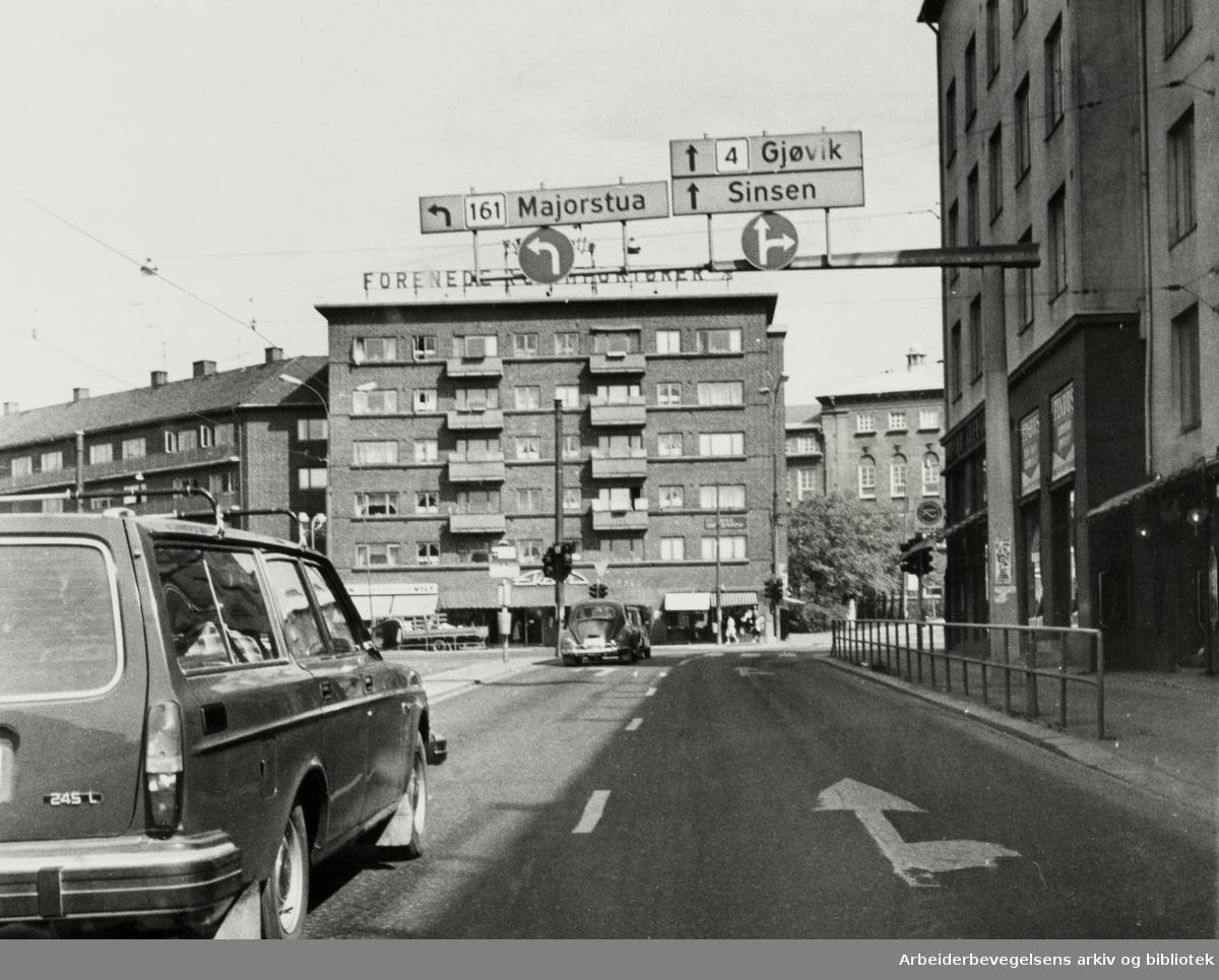 Carl Berners plass. Mai 1977
