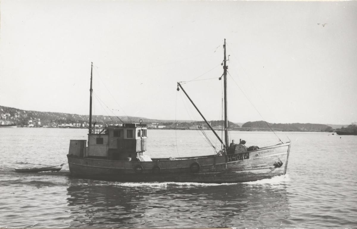 M/S 'Eidsvold I' (Ex. Provider)(b.1898, ukjent verft, Lowestoft, U.K.), i Oslo.