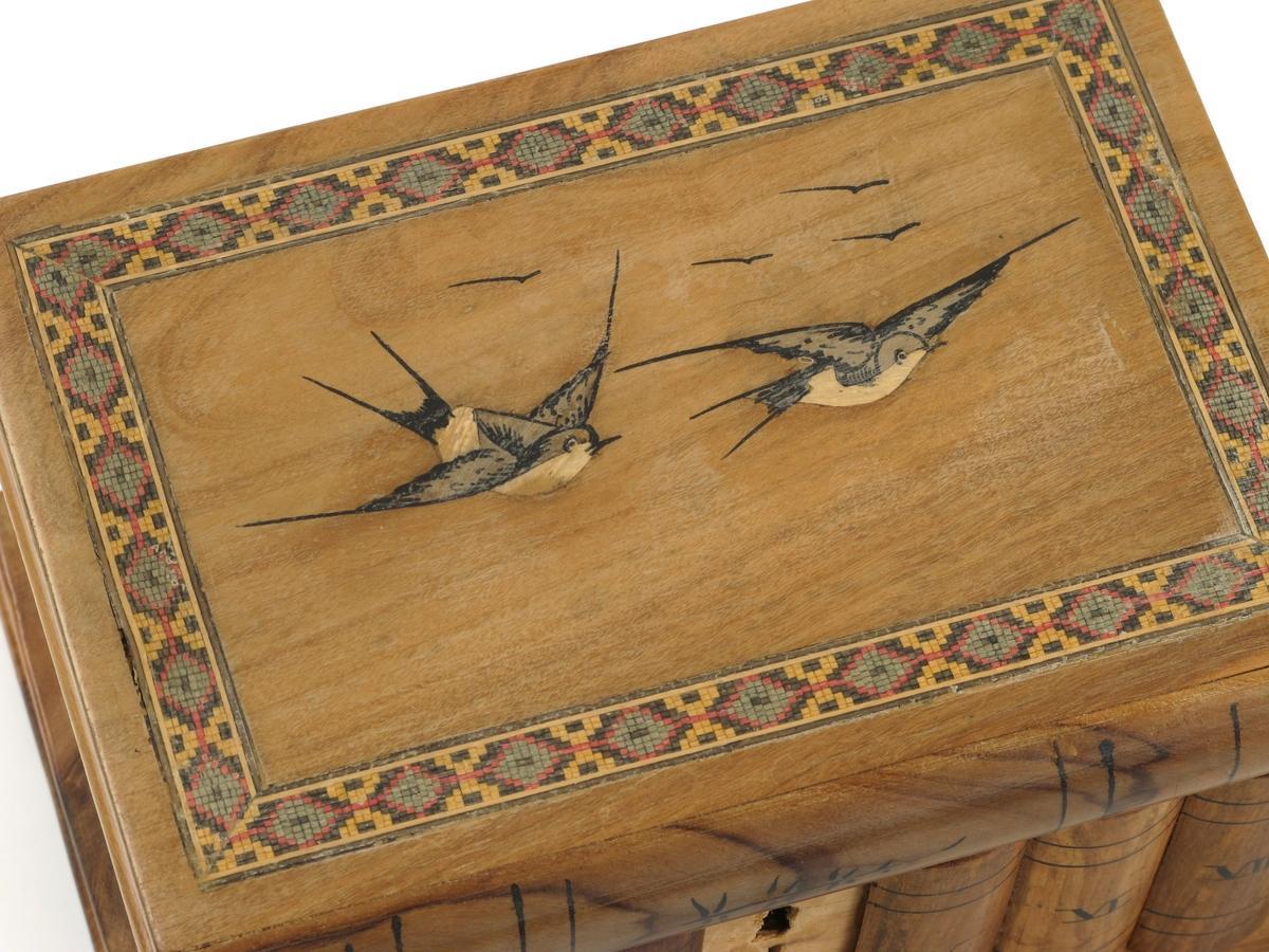 To flyvende fugler/ bord
