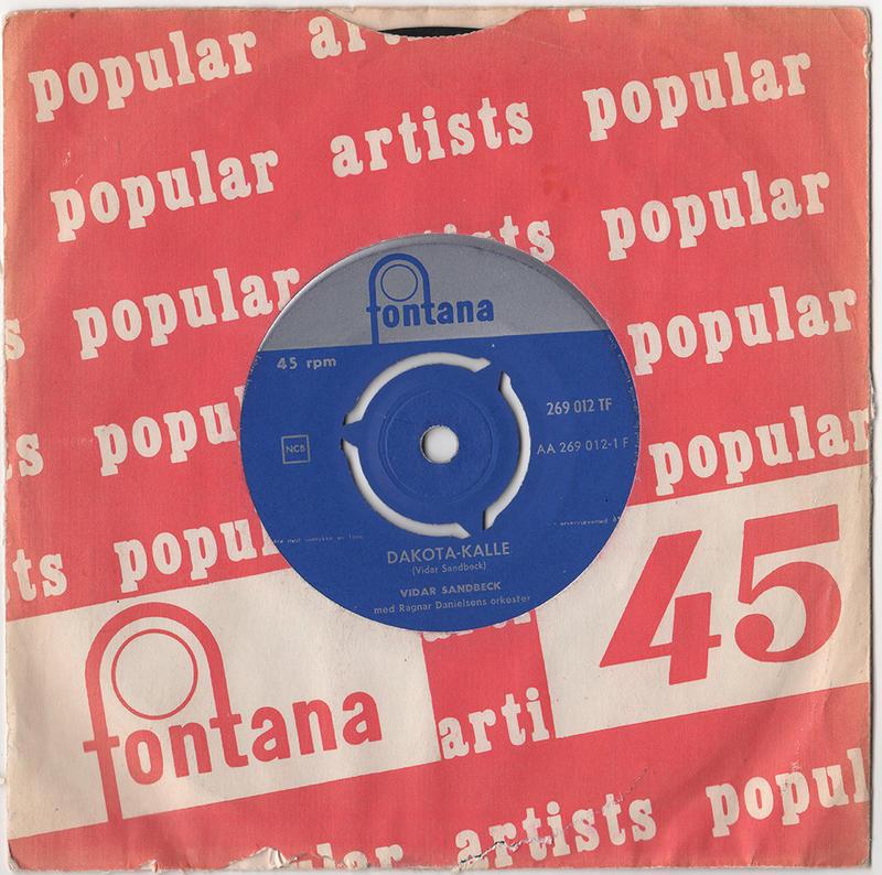 Vidar Sandbeck single nr. 4