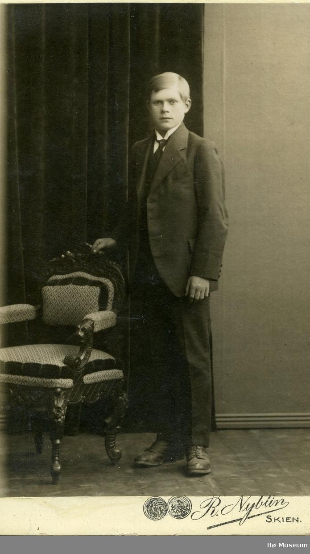 Portrett av Erik H. Skogen