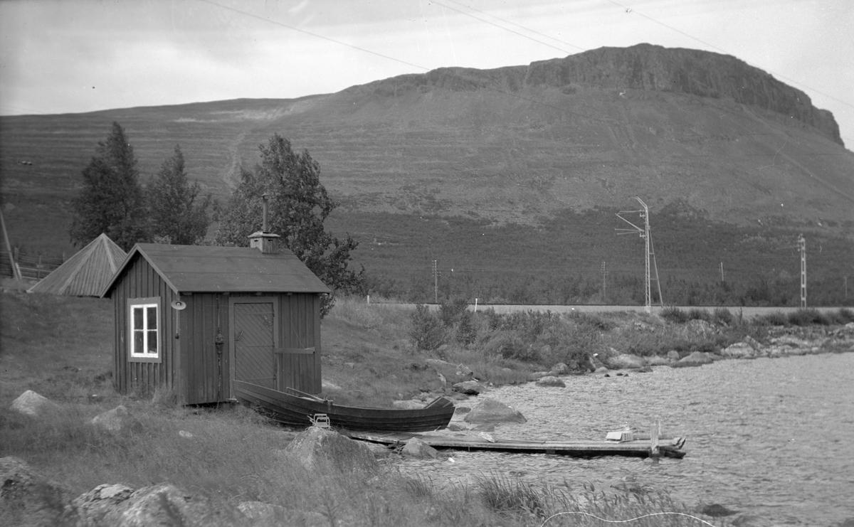 Tvättstugan vid Kaisaniemi pumphus beläget vid Kaisaniemi banvaktstuga 512.