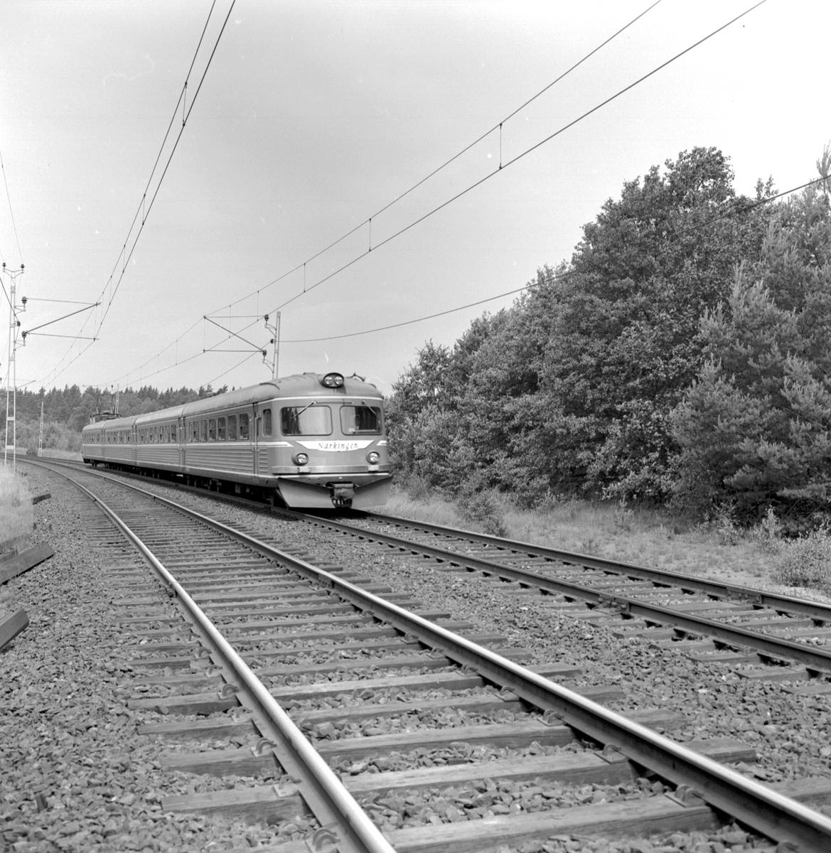"""Statens Järnvägar, SJ Yoa2. """"Närkingen"""""""