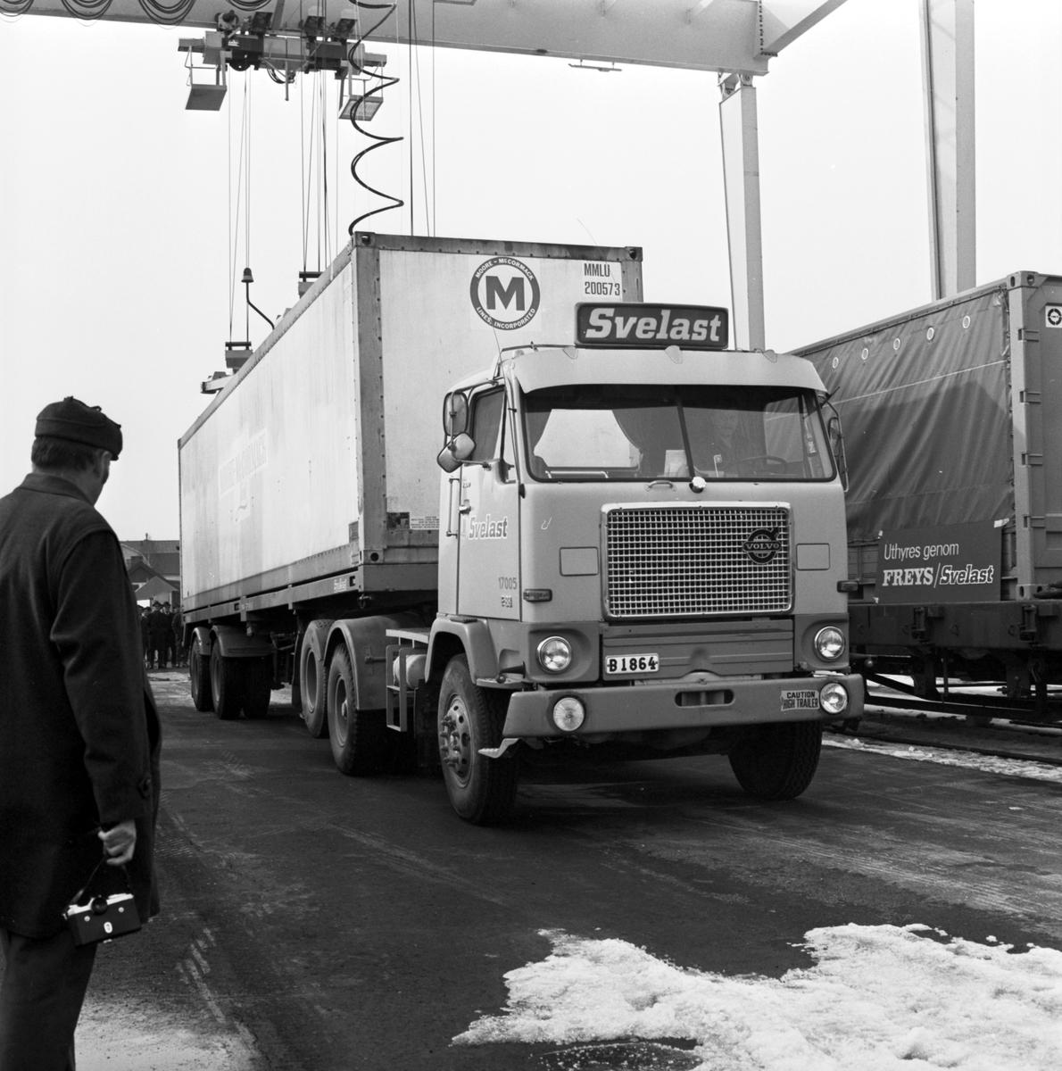 Svelast. Containerterminalen Sundsvall