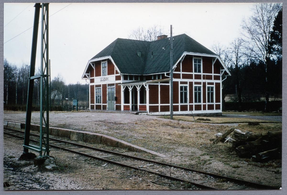 Ulvsby station.