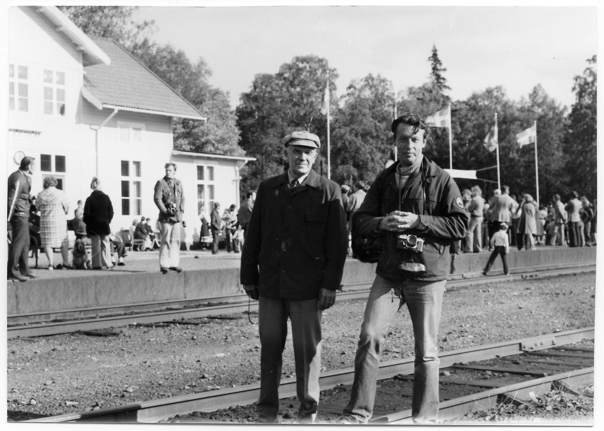Wilhelm Häggström och B. Ekelid.