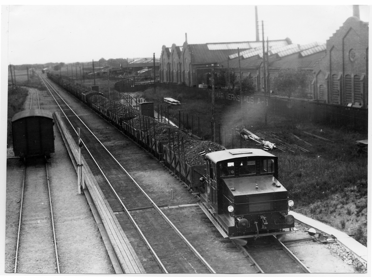 Kalmar Järnväg, KJ lokomotor vid Kalmar Verkstad AB.