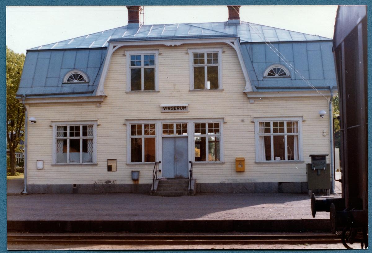 Virserum stationshus.