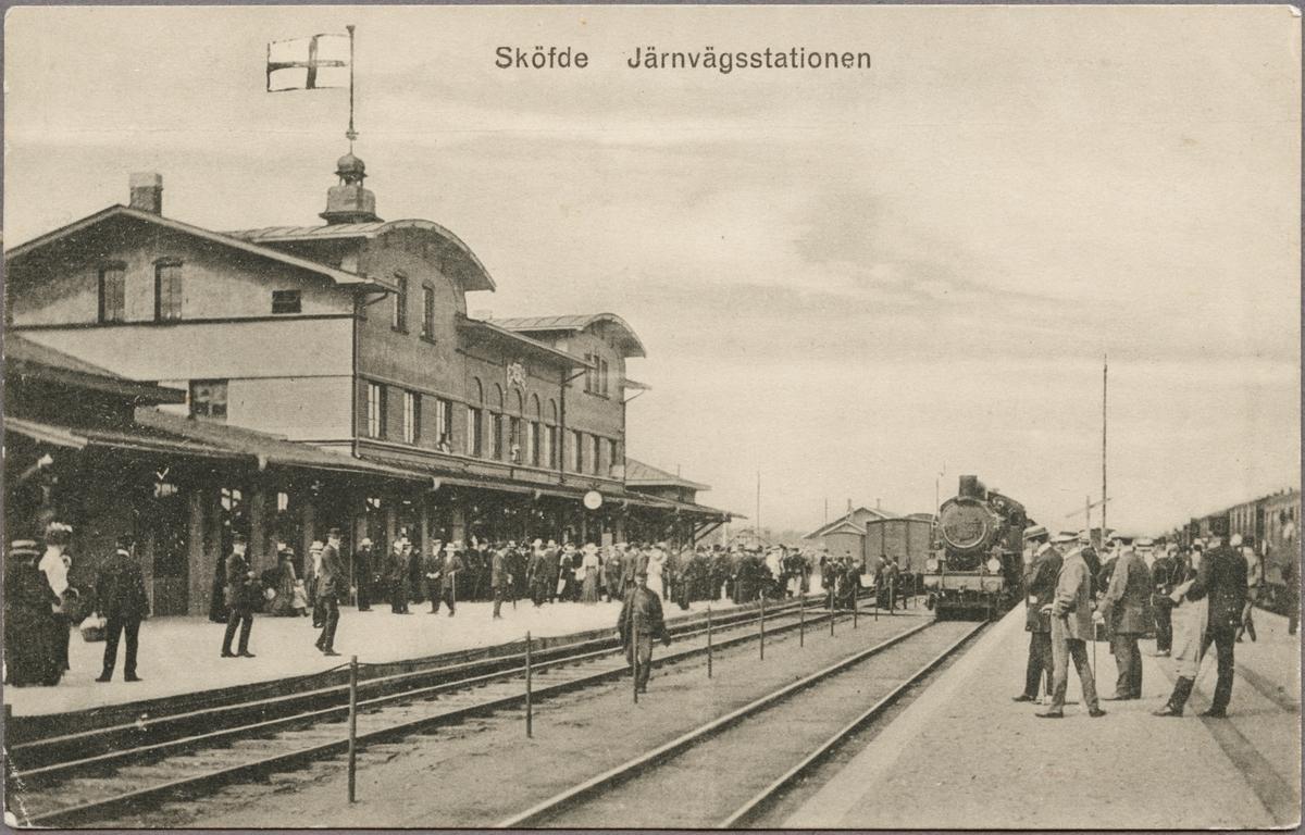 Skövde järnvägsstation.