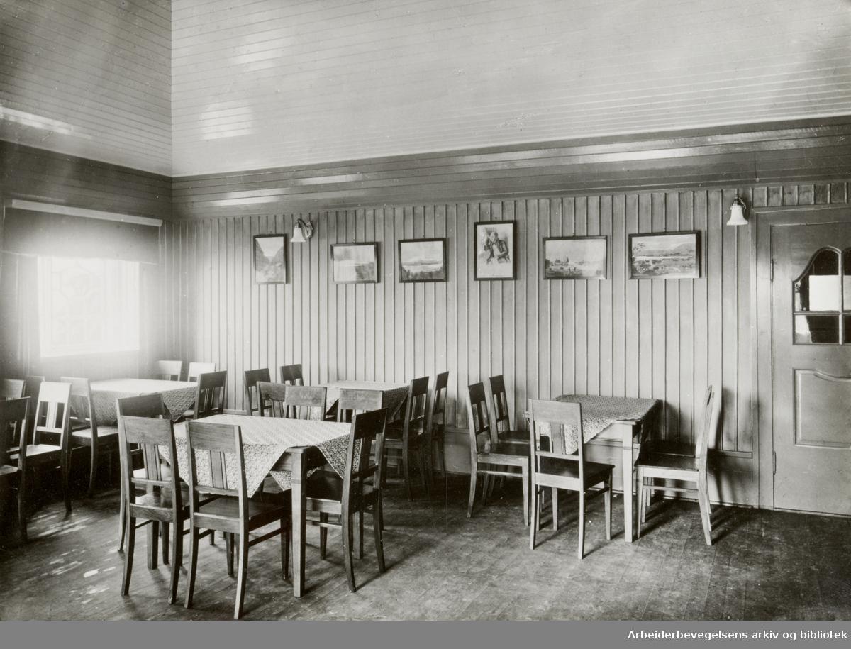 Ekebergrestauranten. 1916 - 1927