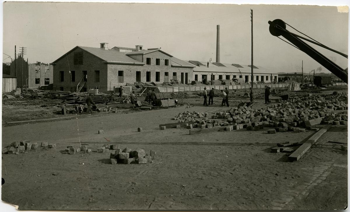 Ilgodsbyggnad under uppbyggnad, Kostnad för ombyggning av expedition och magasin 330.000
