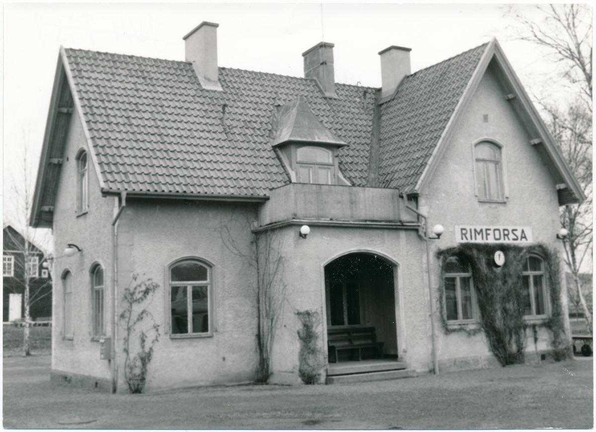 Rimforsa station.