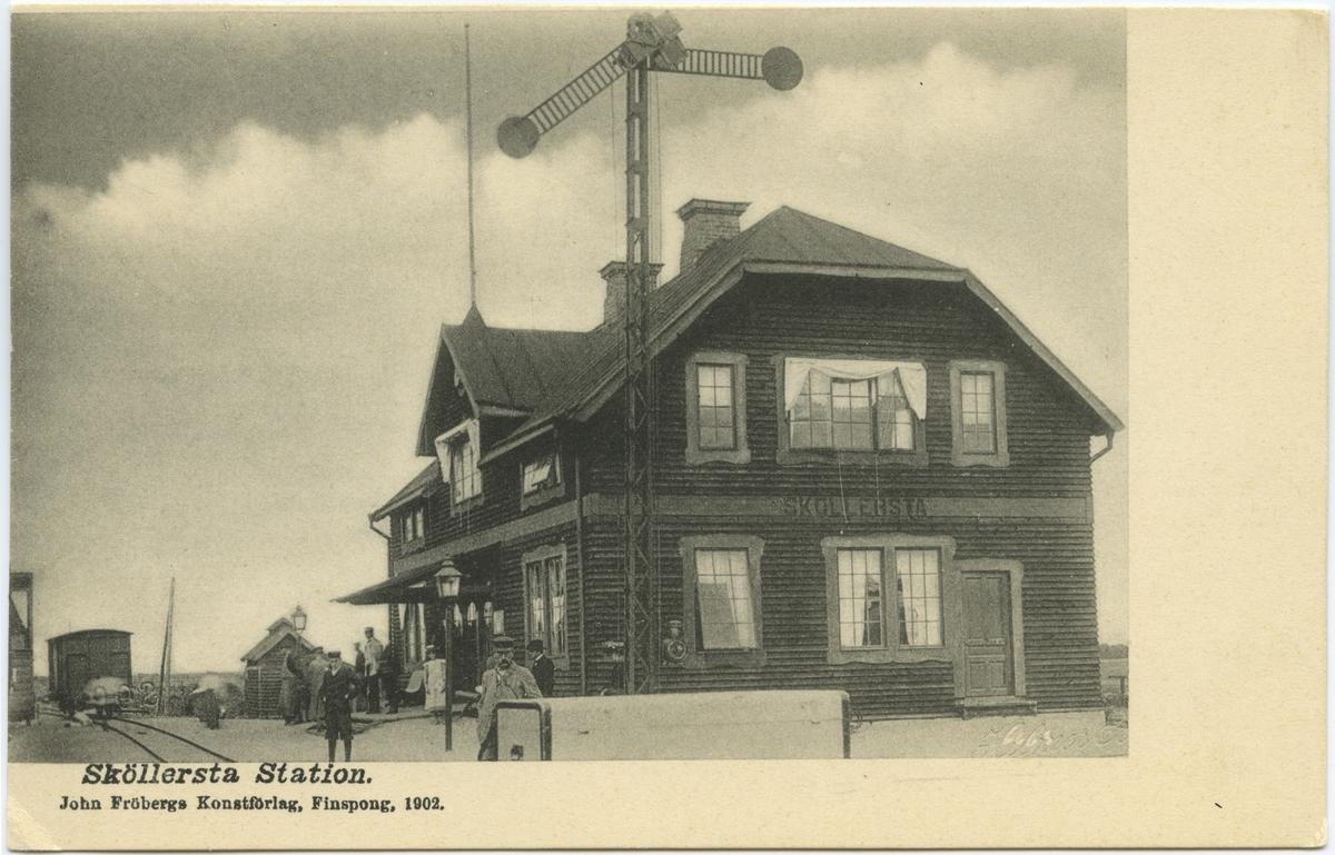Sköllersta station.