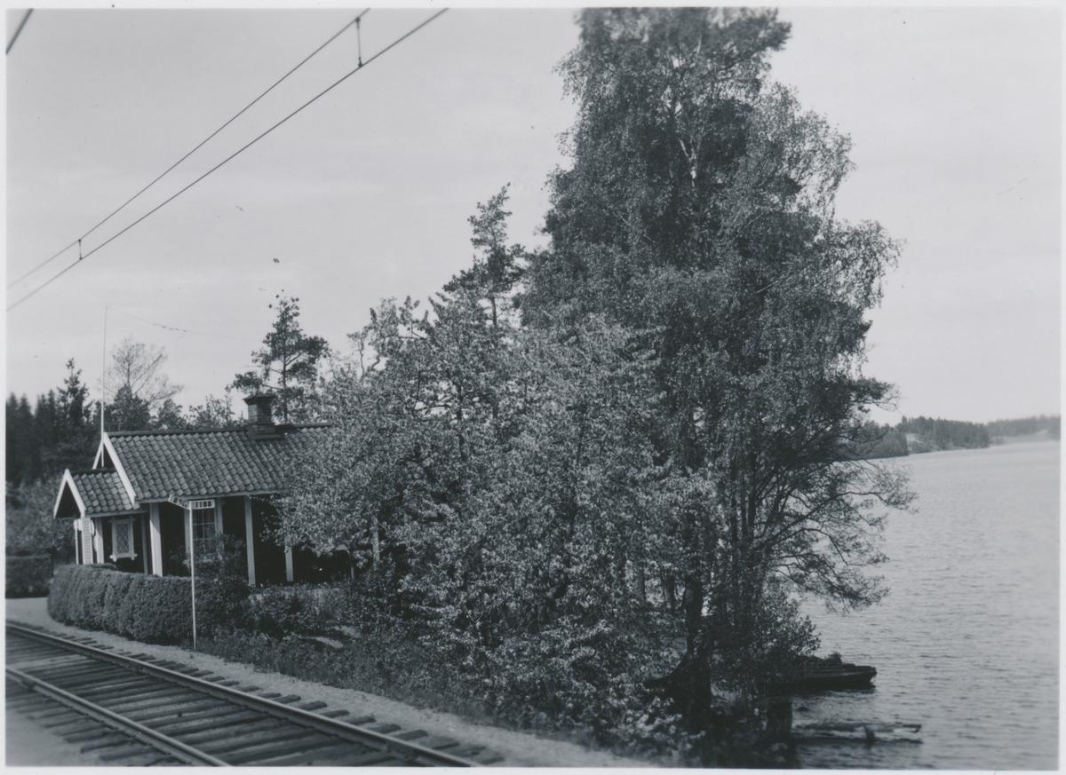Banvaktstuga nummer 514 vid sparreholm