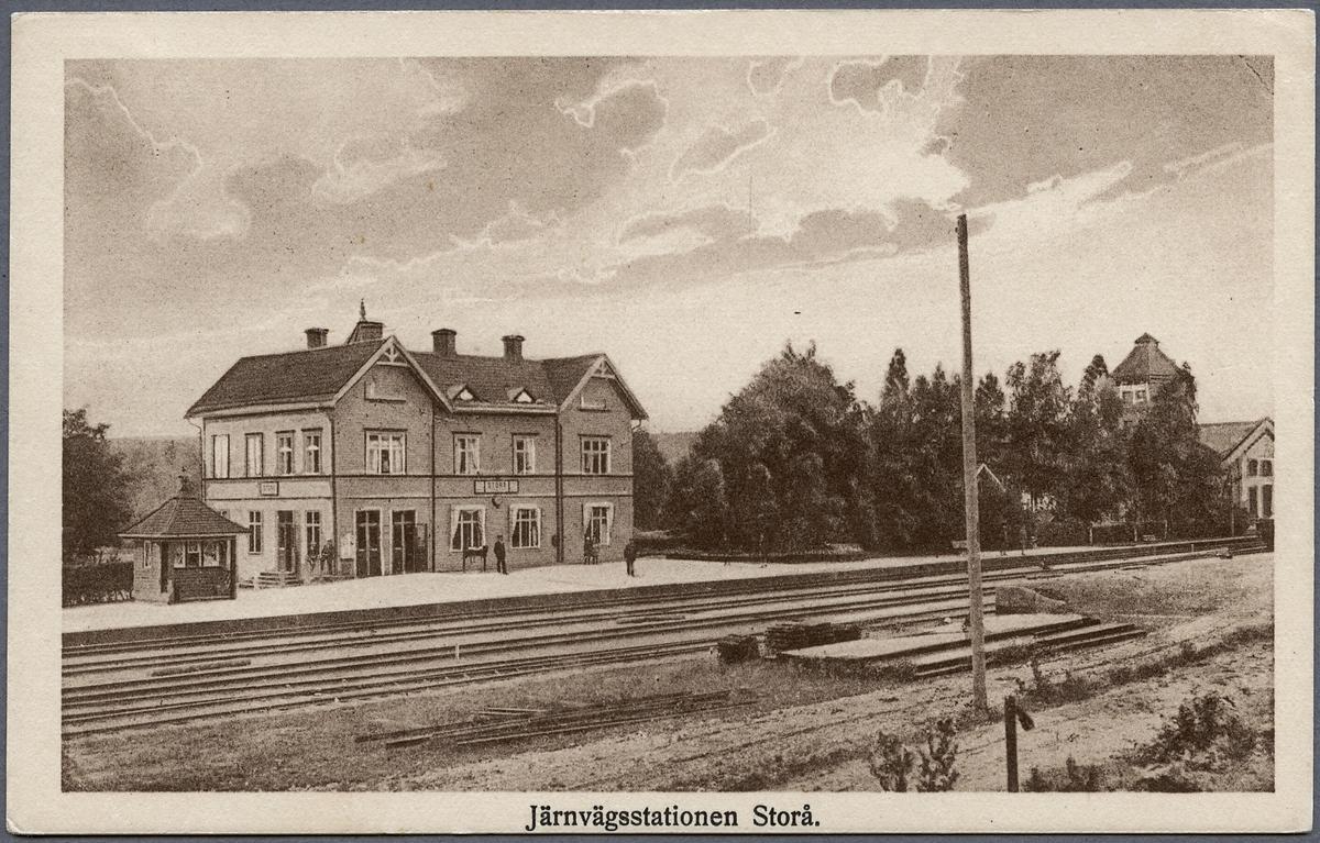 Storå station.