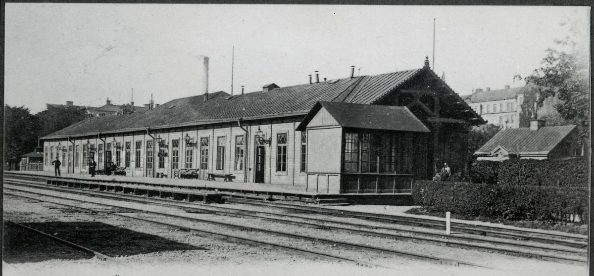 Stockholm södra station.