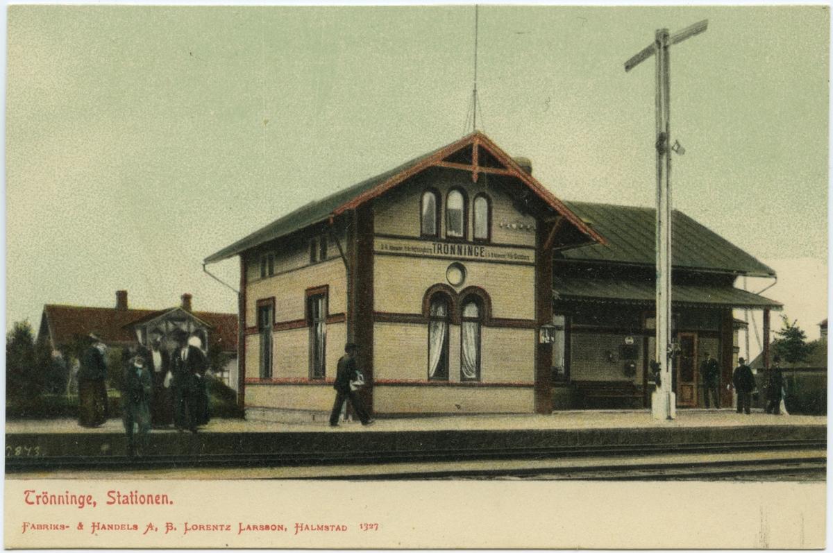 Trönninge station.