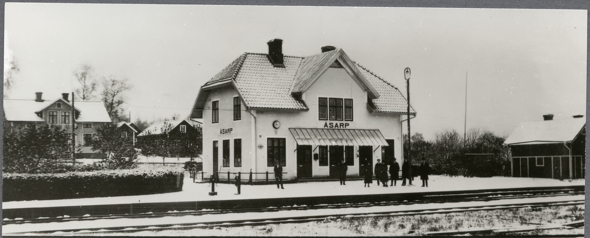 Åsarps station.