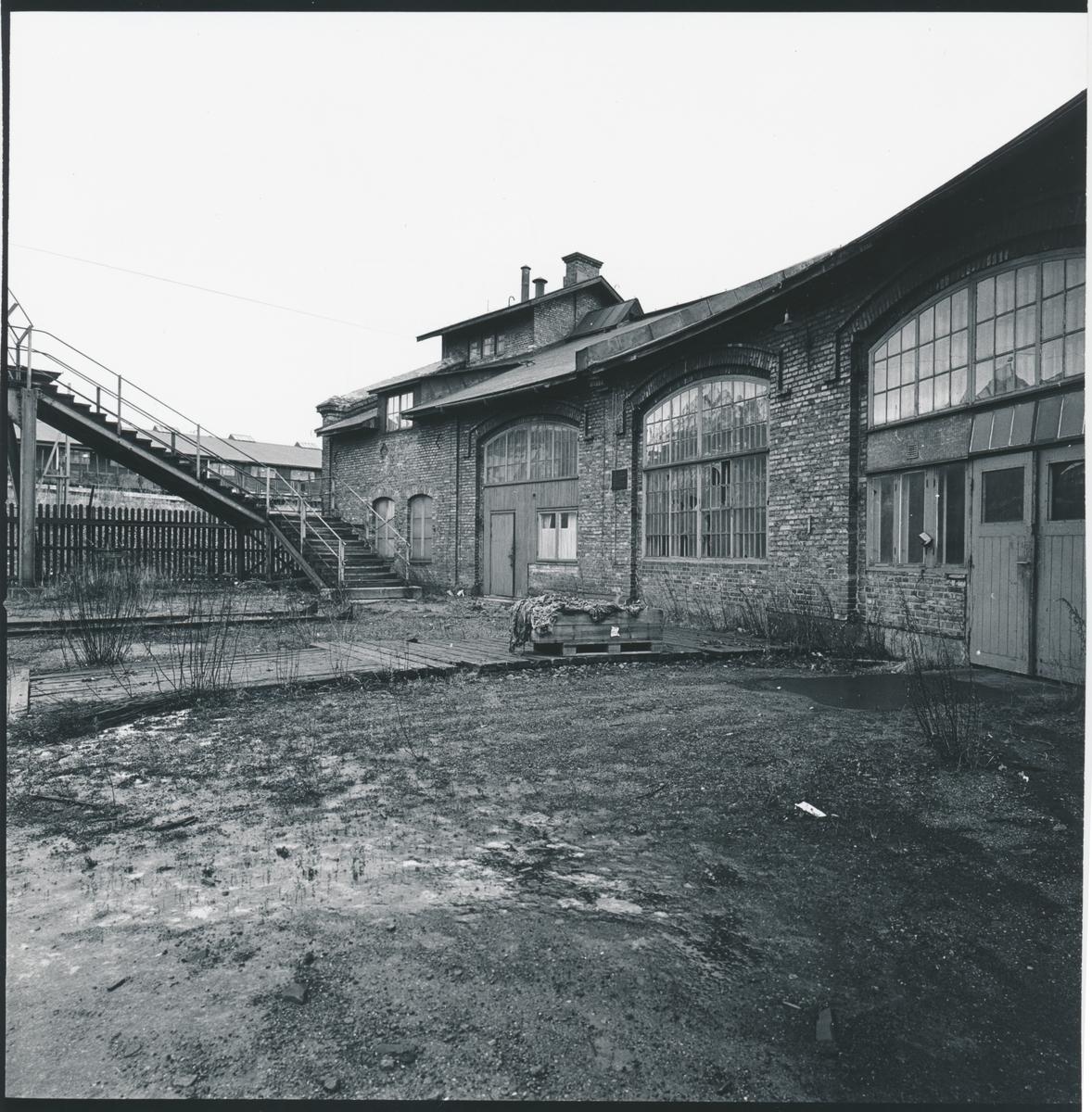 Statens Järnvägar, SJ stationsområde.