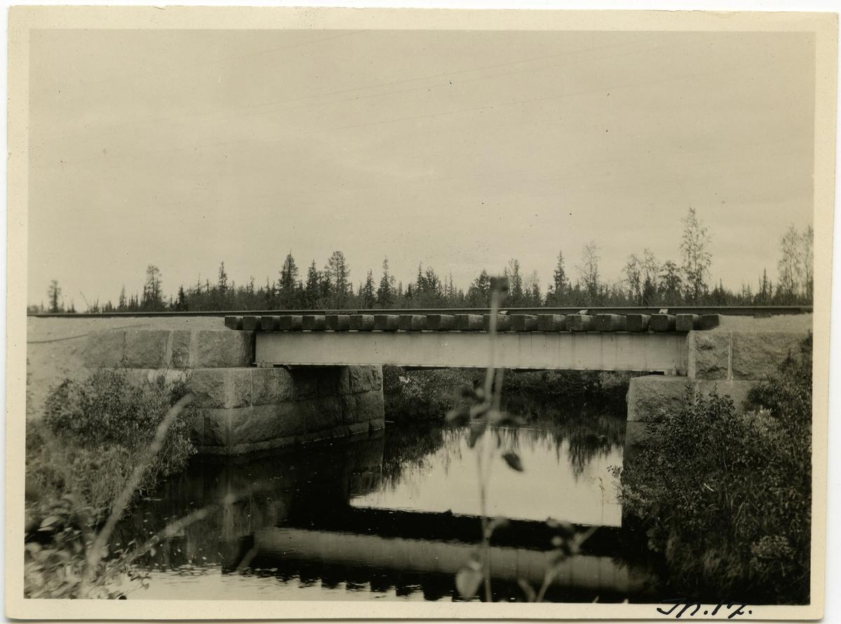 Inlandsbanan Bro över Sverkojokk