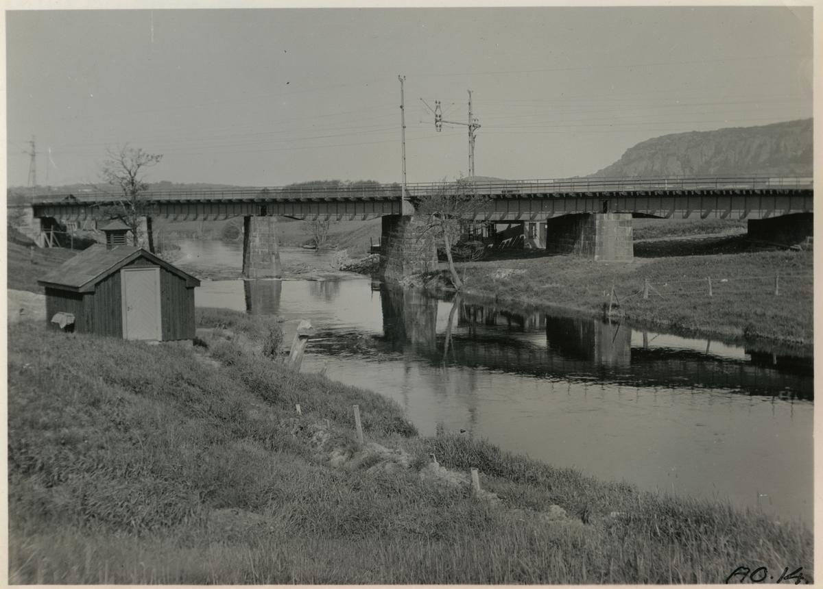 Bro över Säveån.