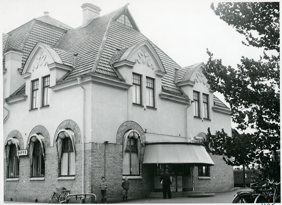 Mariestad station.