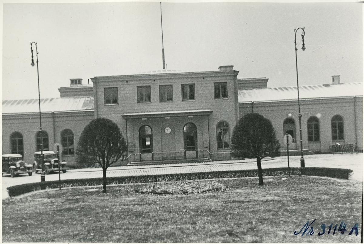 Nässjö stationshus.