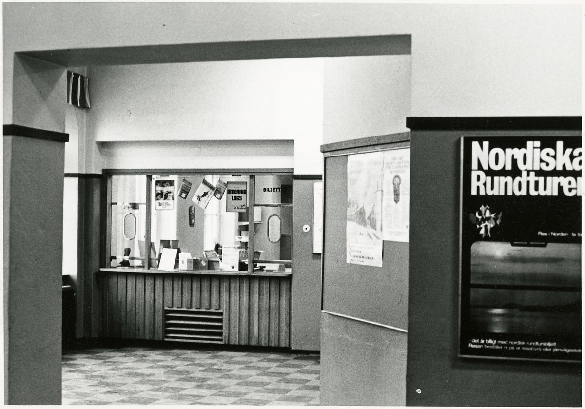 Interiör från Sollefteå station.