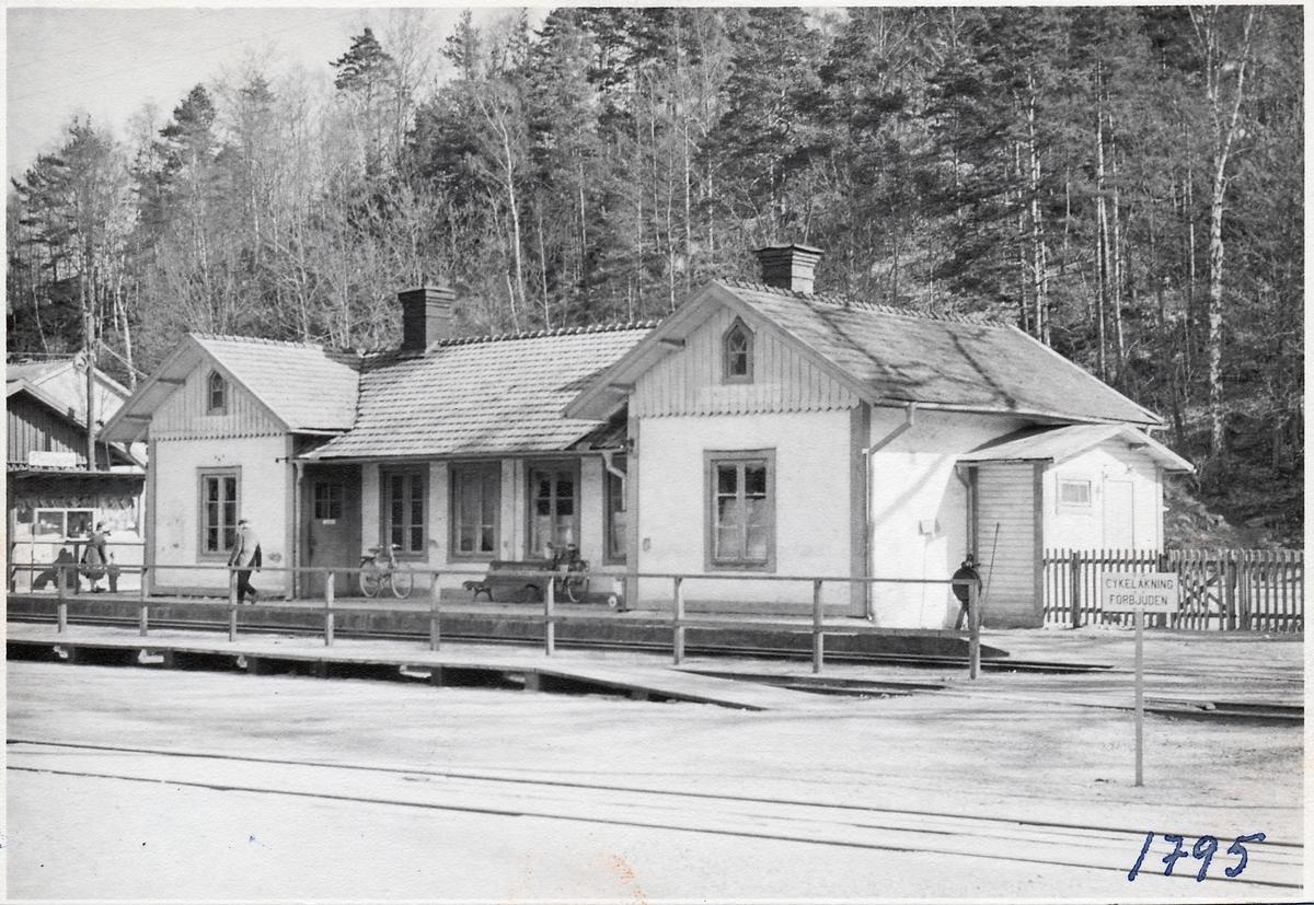 Svängsta station. Gamla stationshuset.