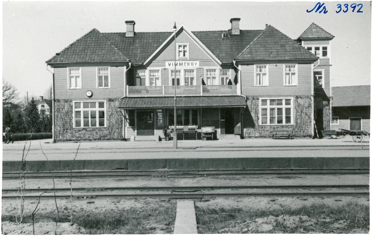 Vimmerbys stationshus.