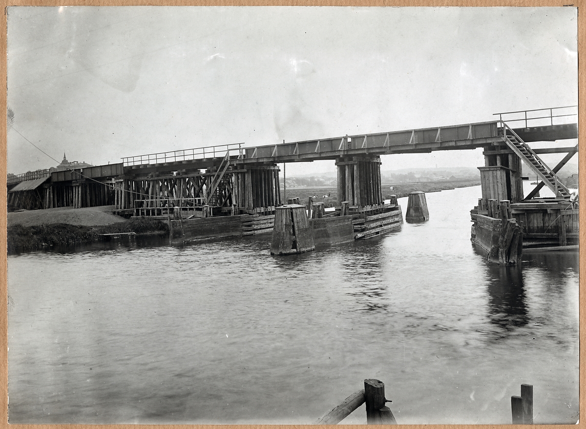 Göteborg, Bohusbanans viadukt 1920.