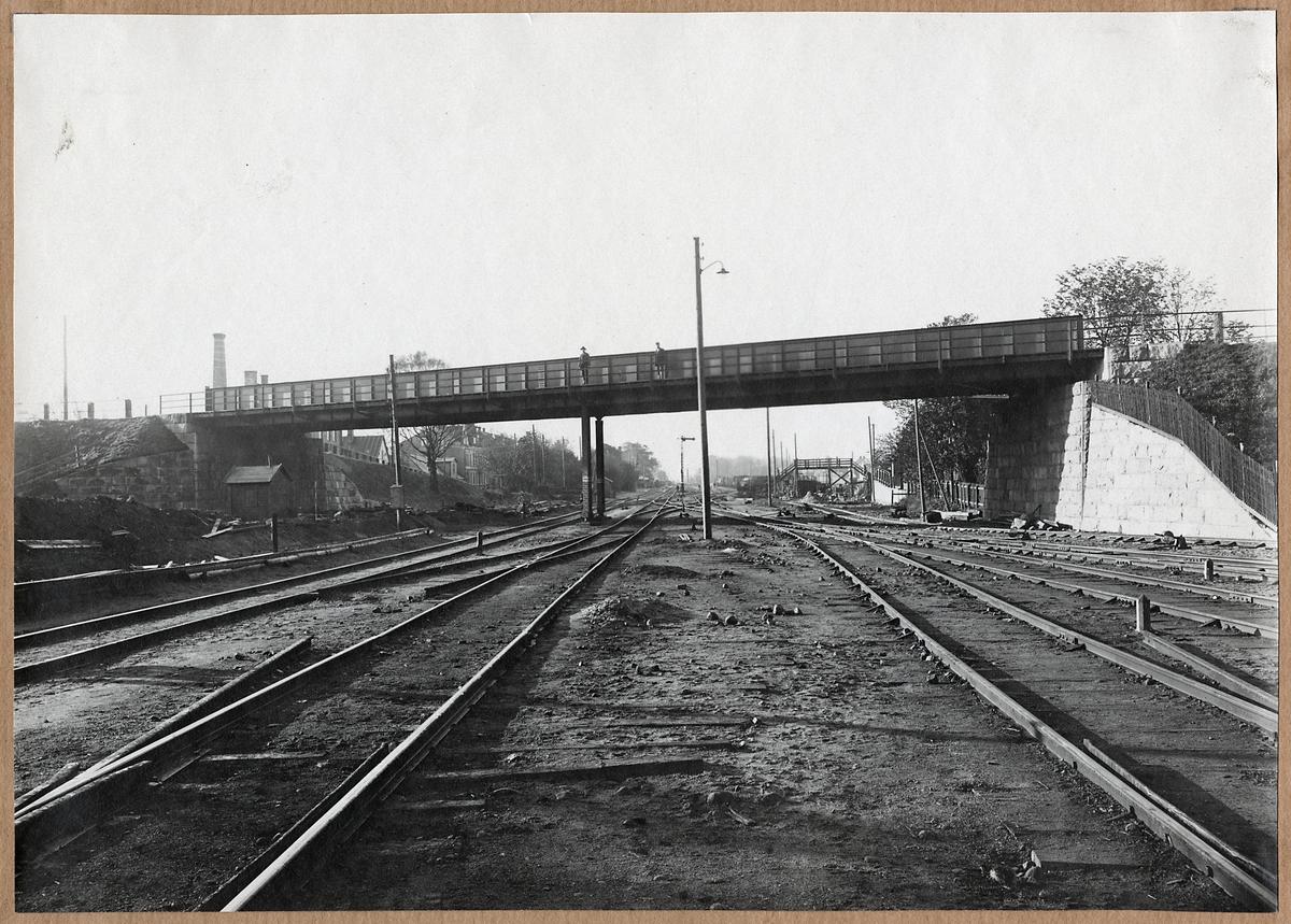 Vägbro för Finjagatan i Hässleholm.