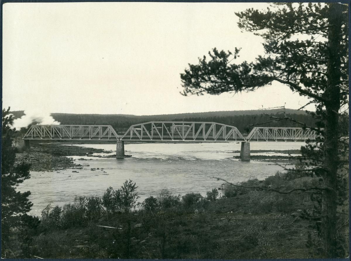 Bro över Kalixälv vid Morjärv