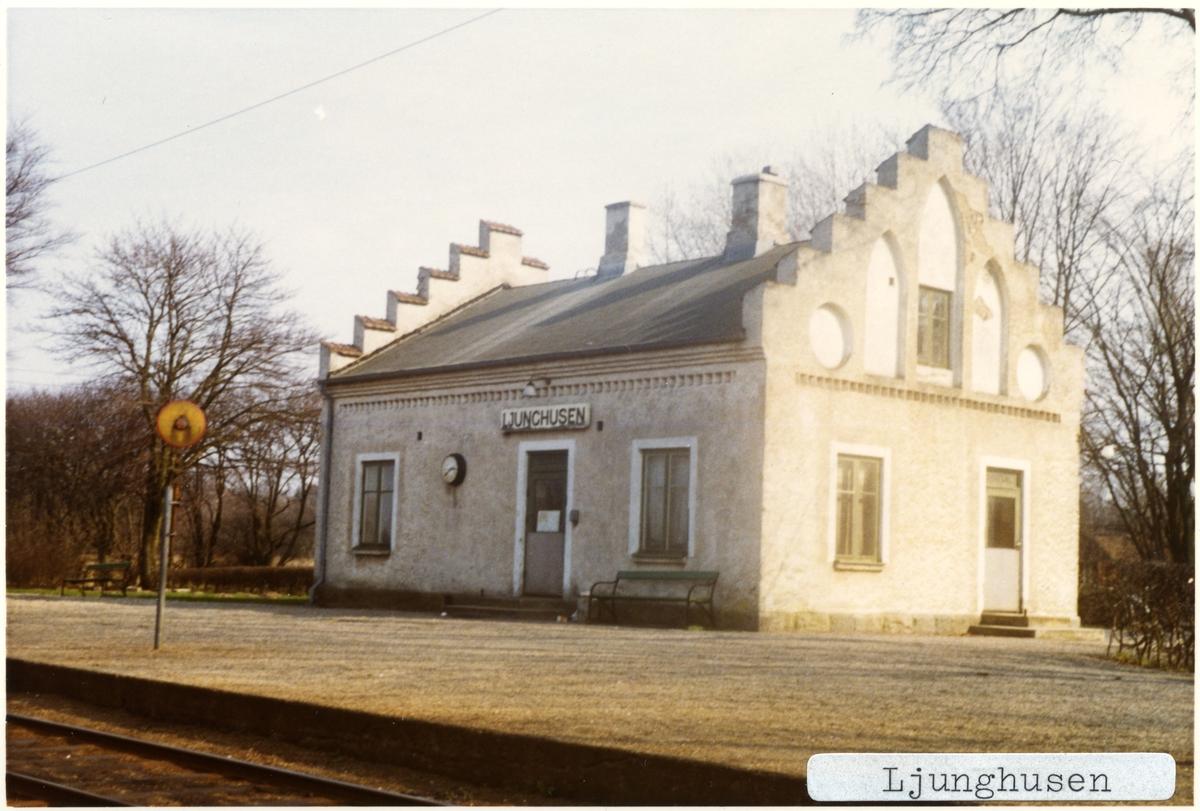 Ljunghusen station.