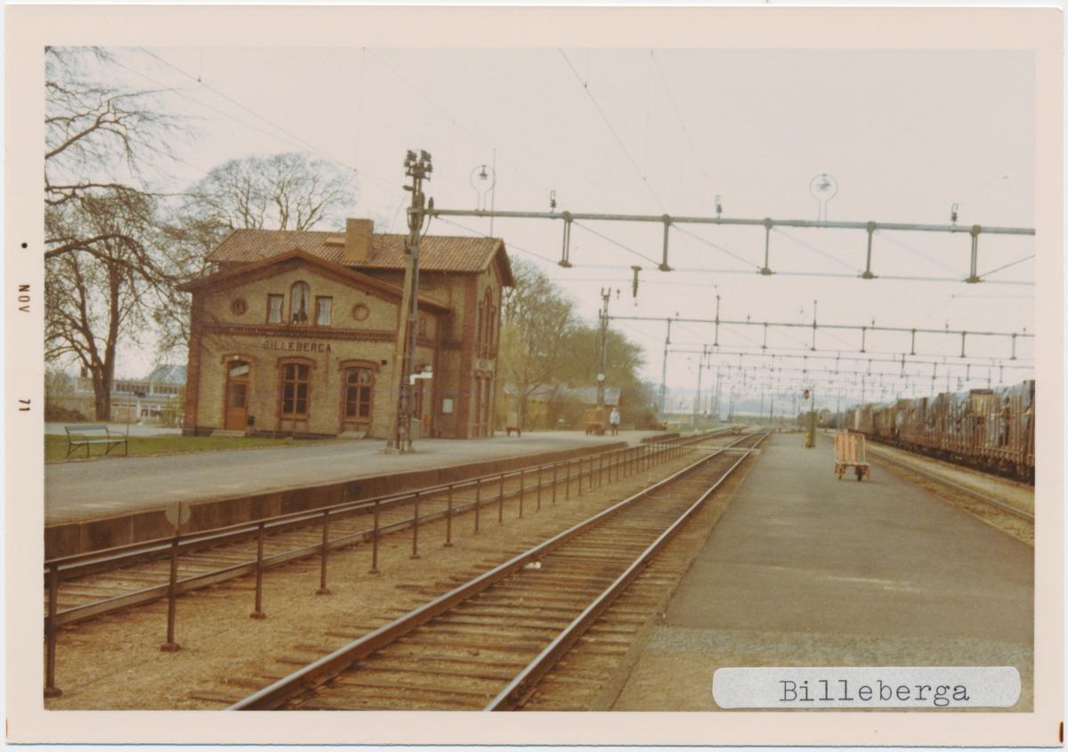 Billeberga station.