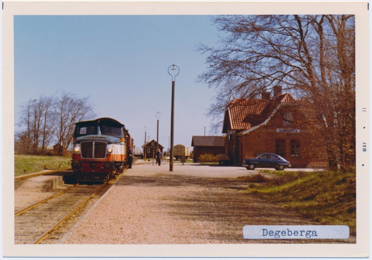 Degeberga station.